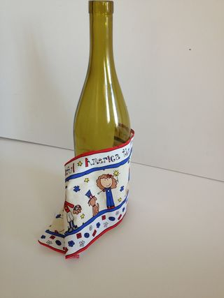 Fabric covered bottle