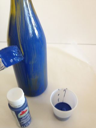 Painting bottle