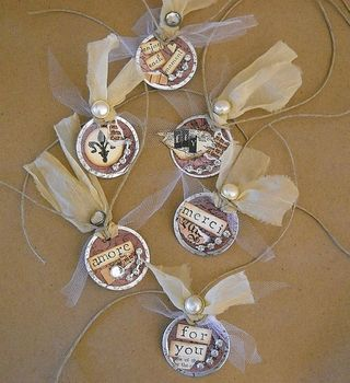 Art gift tags