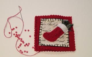 Sew on beads
