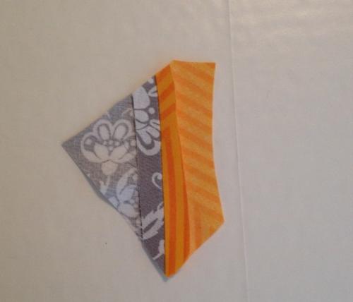 Fabric scrap coasters 2