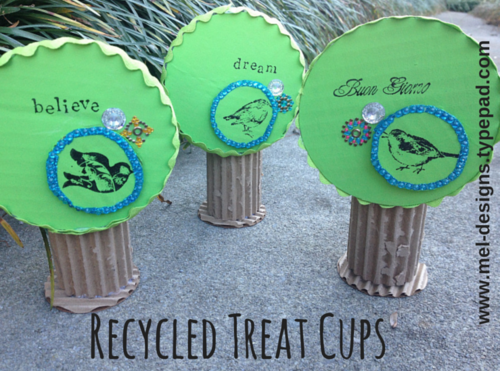 Recycled Treat Cups
